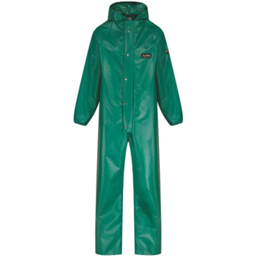 Coverall PVC Chemmaster Green CMBCEW