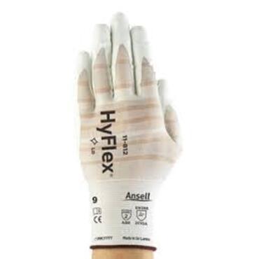 Handschoen HyFlex® 11-812 wit