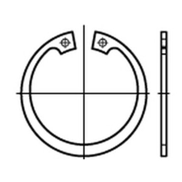 CIRCLIPS INTERIEUR 17 mm DIN 472-35 CIRCLIPS