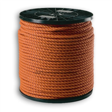 Rope polypropylene orange reel 220 m
