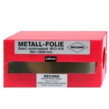Stainless steel metal foil type 4498
