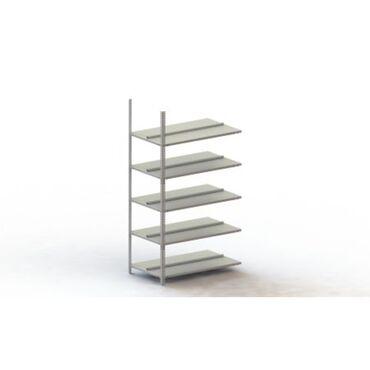 Aanbouw schroefbare kantoorstelling COMPACT dubbelzijdig diepte 2x300mm