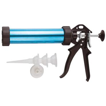 Professional caulking gun with 3 points 310ml