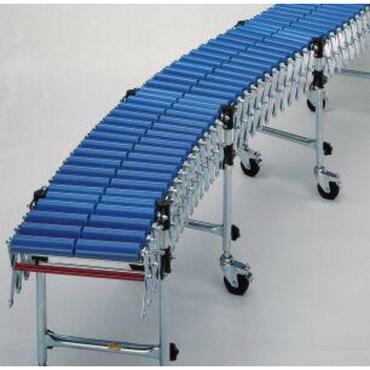Flexibele rollenbaan serie 12000 met stalen rollen