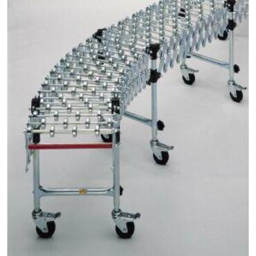 Flexibele wieltjesbaan serie 11000 met kunststof rollen