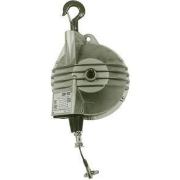 Spring balancer, heavy-duty version with swivel suspension