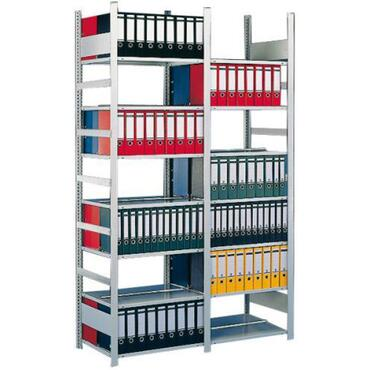 Aanbouw inhaakbare kantoorstelling COMPACT dubbelzijdig diepte 2x300mm