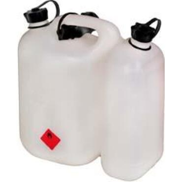 Dubbele jerrycan ECO 5,5 + 3 liter