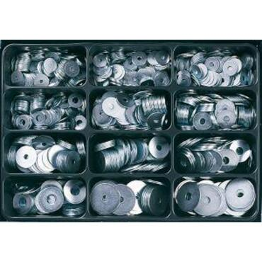 Assembly case 12 compartments, galvanised