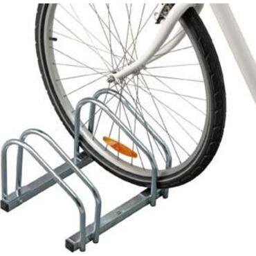 Bicycle rack for floor mounting