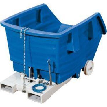 PE-kiepcontainer KB 750 liter blauw