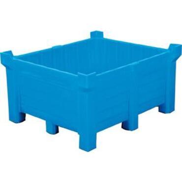 Gesloten stapelcontainer polyethyleen