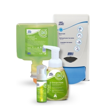 Huidreiniging aromatische schuimzeep Refresh™ Energie FOAM