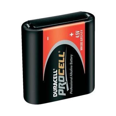 Batterij Alkaline MN1203 4,5V Duracell industrial ID1203  4,5V