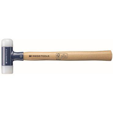 Nylonhammer ohne Rückschlag, Holz Stahl PB 300