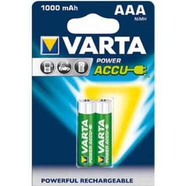 Wiederaufladbare Batterie Power Accu Micro AAA