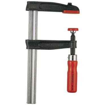 Screw clamp, wooden handle, no anti-slip type 5091