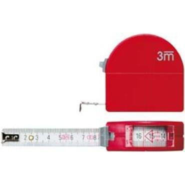 Taschen-Rollbandmaß mit Guckloch und ZirkelfunktionTyp 4683