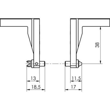 Gewindemesseinsatz für metrische Innengewinde Typ 4314