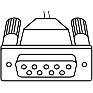Datenkabel SIMPLEX RS 232 für Datenübertragung von Messgeräten zu PC oder Drucker