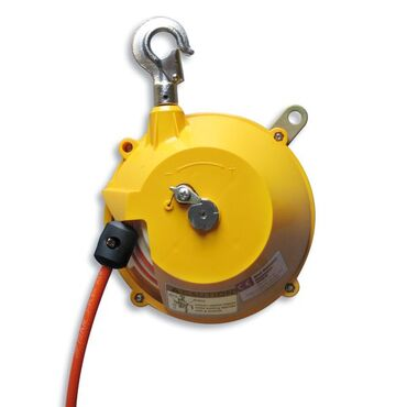 Spring balancer with reinforced air hose type HTB