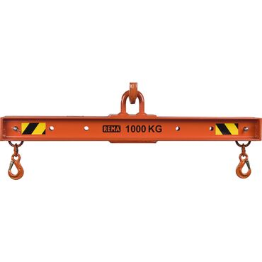 Beams with 2 adjustable hooks TRA-VE
