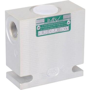 "Steel body for screw-in cartridge valves C-16-3 3/4"" 3LH-16S-B06"