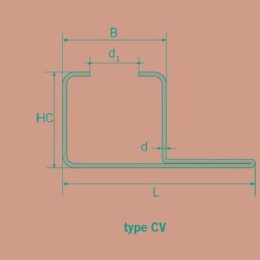 Montageprofil CV15 Galvanisiert 31x25mm W53 2000mm