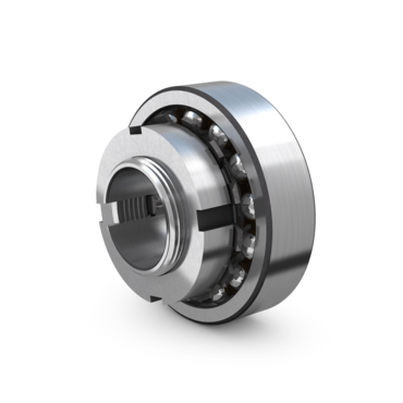 Double row self-aligning ball bearing set with tapered reducer sleeve and nut series KAM