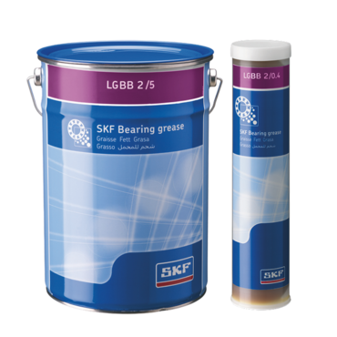 Wind turbine blade and yaw grease LGGB 2