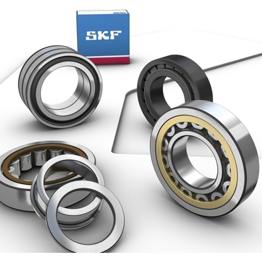 Single row full complement cylindrical roller bearing series NJG