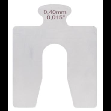 Cales d'épaisseur type A Inox AISI 304