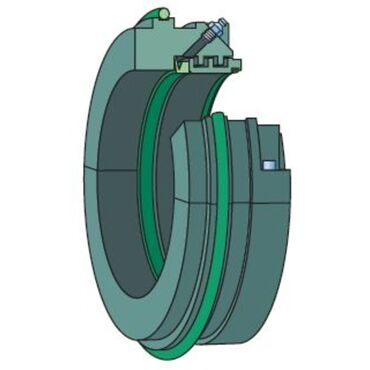 Taconite heavy-duty seals with a radial labyrinth for SNL-series bearing housings TSN 528 ND