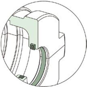 Kevlardichtung für SRB metrische Lagergehäuse