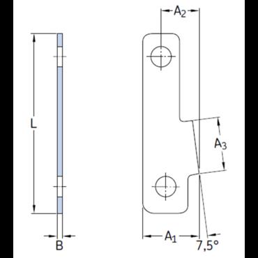 Borgplaat PL48