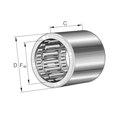 Vrijloopkoppeling met lagering serie HFL