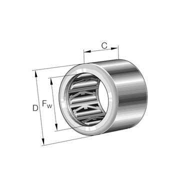 Vrijloopkoppeling zonder lagering serie HF..-KF