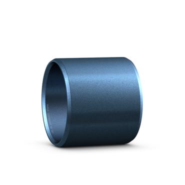 PTFE straight bushing maintenance-free polyamide backing series PPM
