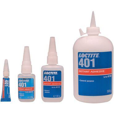 401 Colle prise rapide universelle, faible viscosité
