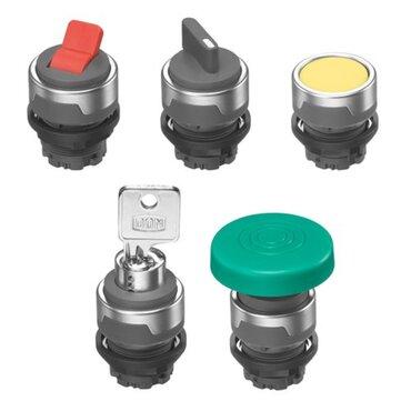 Knopbediening voor AP / ST-serie ventielen