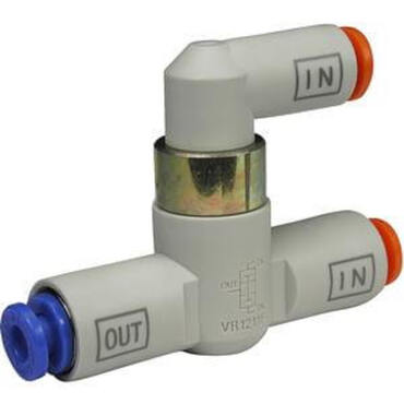 One-touch fitting and valve series VR12*1F