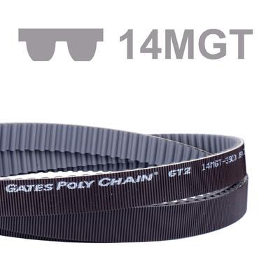 Courroie dentée Poly Chain® profil 14MGT largeur 90 mm