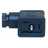 Plug fig. 3201 plastic for solenoid valve