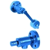 Drain valve fig. 574 steel self closing flange