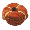 Rope in PE, colour red, 220m