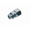 Straight male stud coupling with captive seal type A/WD