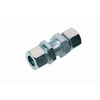 Straight bulkhead coupling type K
