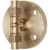 Peilglastoestel tussenstuk fig. 586TU messing/NBR PN10 DN20