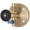 Peilglastoestel onderkraan fig. 586ON messing/NBR met aftap PN10 DN20