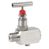 Needle valve 1223 stainless steel (SS) tapped/threaded NPT 1/2